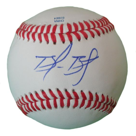 SF Giants Brandon Belt signed Rawlings ROLB leather baseball w/ proof photo.  Proof photo of Brandon signing will be included with your purchase along with a COA issued from Southwestconnection-Memorabilia, guaranteeing the item to pass authentication services from PSA/DNA or JSA. Free USPS shipping. www.AutographedwithProof.com is your one stop for autographed collectibles from San Francisco Bay Area Sports teams. Check back with us often, as we are always obtaining new items.