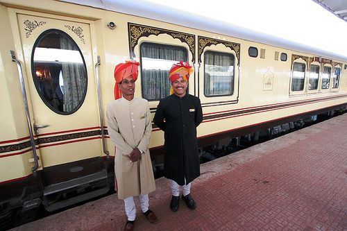 Rajasthan Palace on Wheels - take me there!
