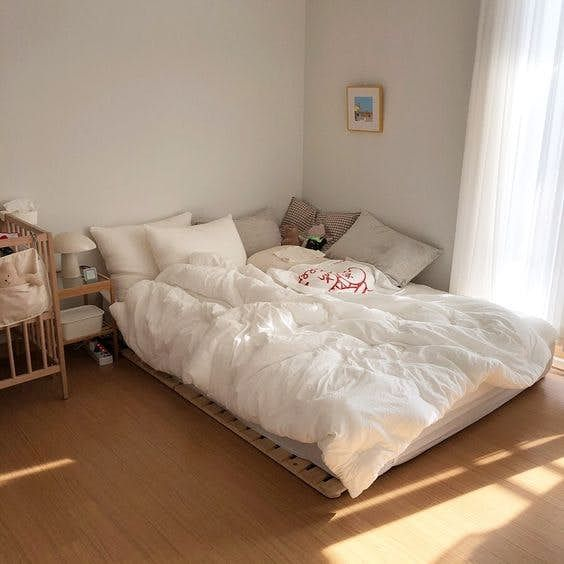 Korean Style Bedroom Bedroom Decor Inspiration Room Inspiration Bedroom Minimalist Bedroom Examples of Korean-style minimalist bedrooms