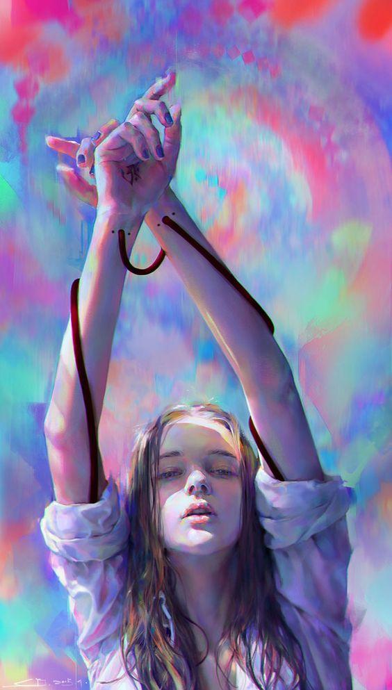 Paintable.cc   50 Stunning Digital Painting Portraits: Yanjun Cheng #digitalpainting #portrait #inspiration