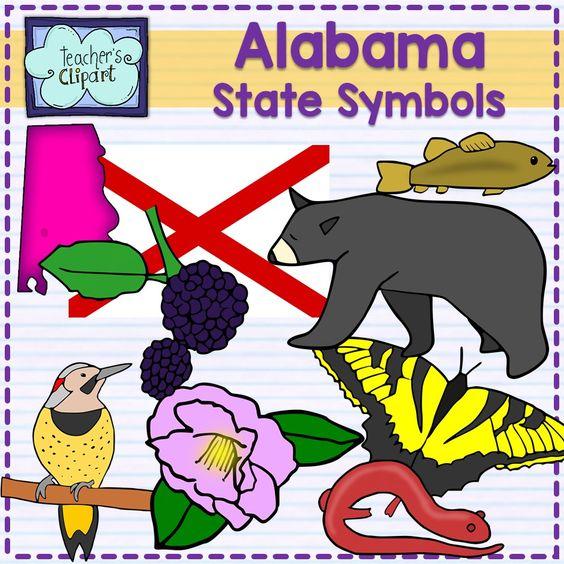 Alabama, US states and Symbols on Pinterest
