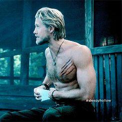 Nick Hawley (Matt Barr), Sleepy Hollow | 32 Men On TV Who Made You Thirsty In 2014