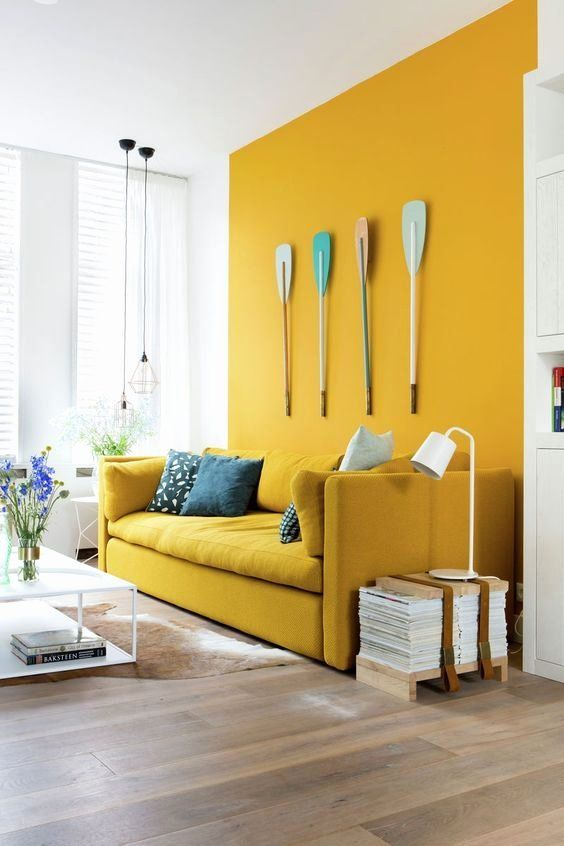 Yellow Living Room Chairs Awesome Yellow Mustard In Decoration And How To Bine It Yellow Walls Living Room Yellow Living Room Mid Century Living Room Decor