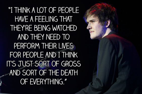 Despite his fame and success he's still incredibly self-aware and grounded. | 29 Times Bo Burnham Ruined You For Other Men