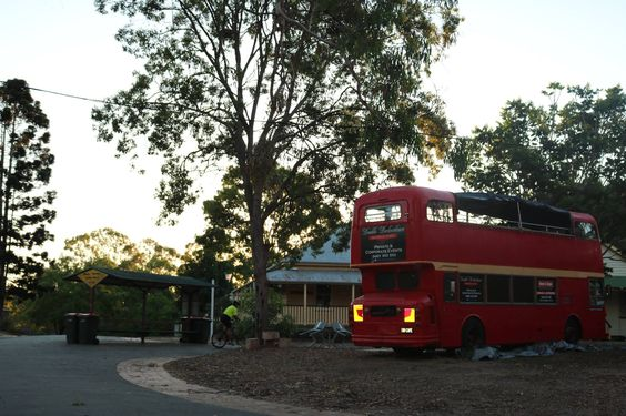 The bus of Old Petrie Town