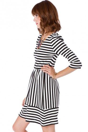 Striped Dress: