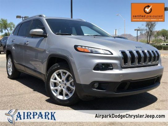 Sport Utility 2015 Jeep Cherokee Fwd Latitude With 4 Door In Scottsdale Az 85260 2015 Jeep Jeep Cherokee Jeep