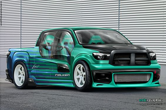Toyota Tundra by edcgraphic on deviantART