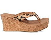 Bruine Ugg schoenen Natassia slippers