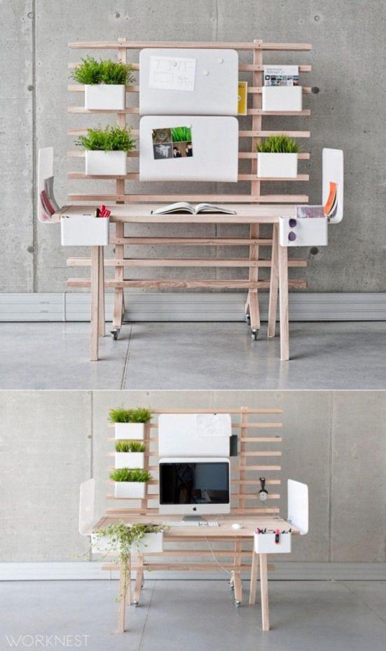 Fabulous Modern Desk Ideas For Functional And Enjoyable Office Diy Design Mid Century Metal Mi Bedroom Organization Diy Bedroom Desk Organization Bedroom Diy