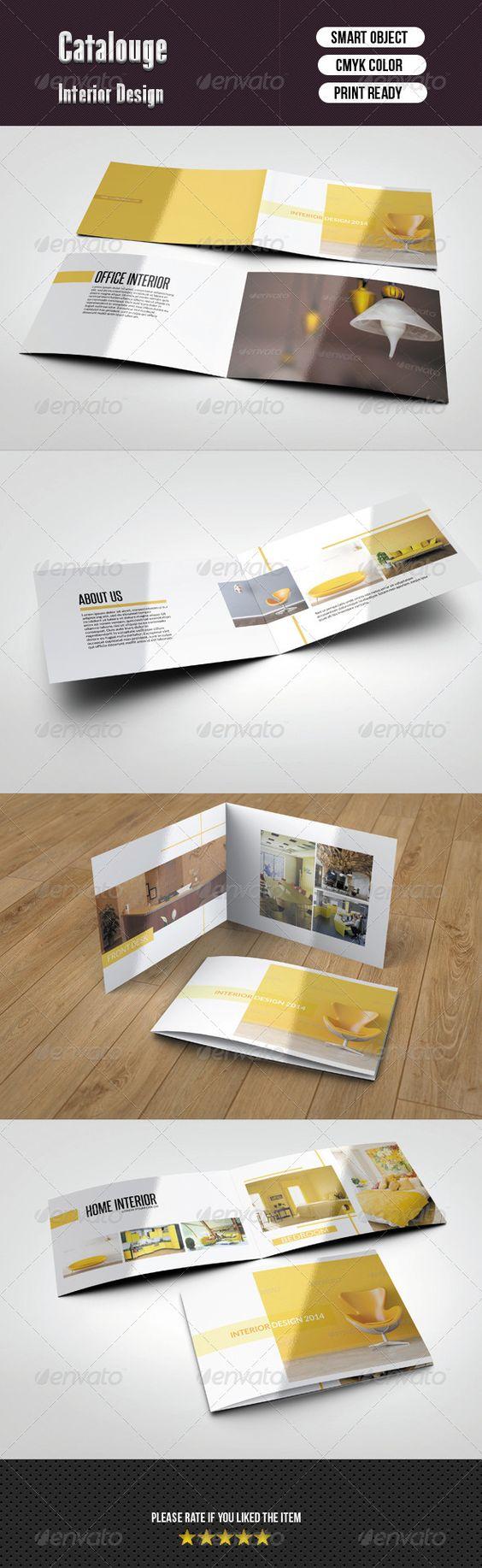 Interior Catalog Furniture Brochures and Catalog design