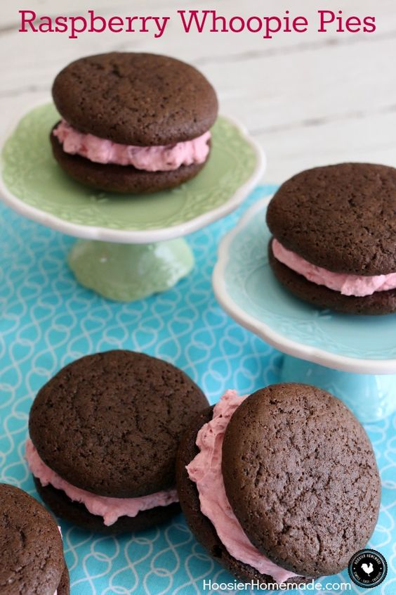 pie filling chocolate whoopie pies with cassis filling recipes ...