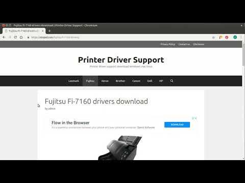 fi 7160 driver