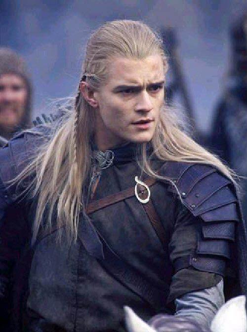 Orlando Bloom as Legolas on LOTR - Everybody's favorite elf, hands down