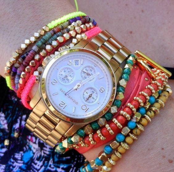 Colorful Collective Bracelets