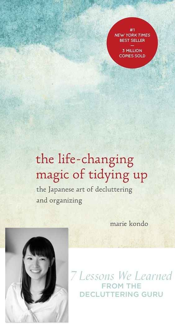 We read Marie Kondo's book The Life-chaging Magic of Tidying Up, and we're sharing what we learned about decluttering, organization, and storage!