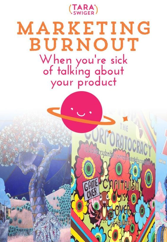Launching stuff, talking about your product for a sustained period of time, is hard. It can be draining to talk about your work, especially when it feels like you're talking about yourself all the time. The result is Marketing Burnout. You're sick of talk