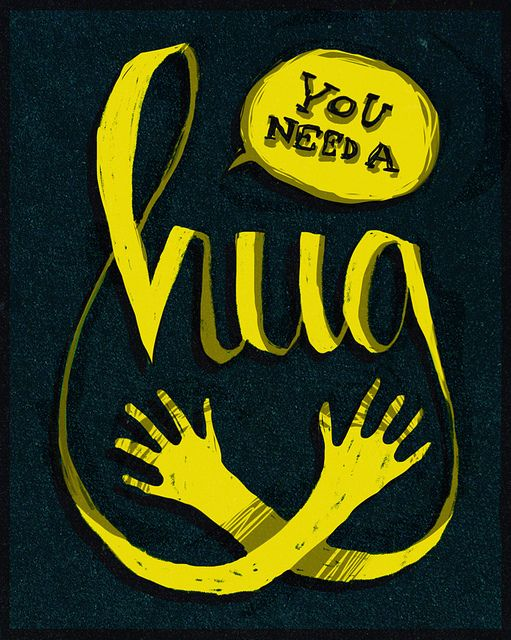 you need a hug by caitlinburns, via Flickr