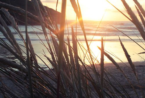 Sunset in Mawgan Porth.