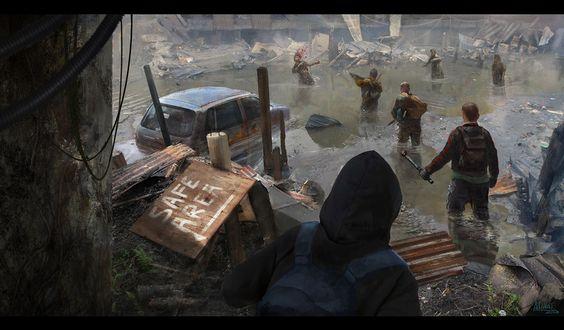 Safe Area by Leonardo Calamati | Horror | 2D | CGSociety