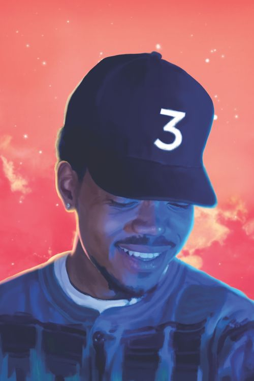 Chance 3 Poster Pack Coloring Book Album Chance The Rapper Mixtape Cover