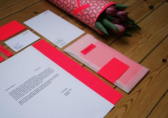 Julia Rende » Araki Flowers / Grafisk identitet - CAP - Nordens största tidning för kreativa formgivare