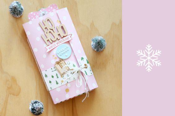Minibook navideño