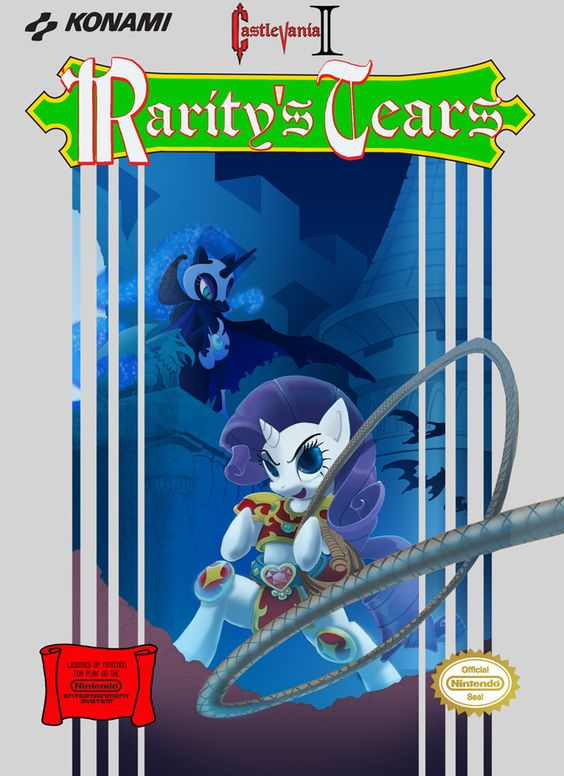 Rarity's Tears by ~foolyguy    I would totally play that game!!!