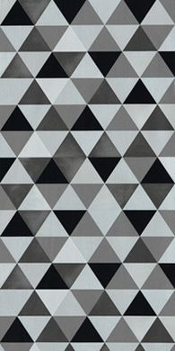 Papier Peint G Om Trique Triangles Noir Et Blanc Gris Papiers Peints Wall Painting Floors