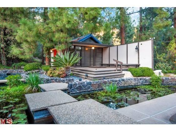 Asian Inspired Mid-Century | Hollywood Hills: Mid Century Modern, Hollywood Hills, Misc Architecture, Inspired Mid, House Wishes, Century Hollywood