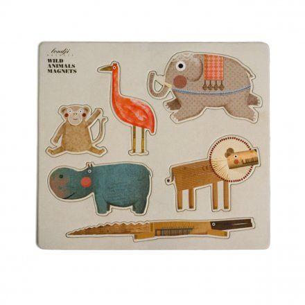Londji/Magneti per frigorifero Wild Animals/Accessori per la casa  Soprammobili e decorazioni