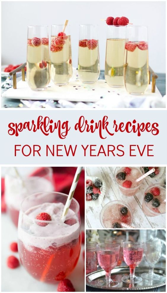 Easy Sparkling Drink Recipes for New Years Eve! - Lemon Peony