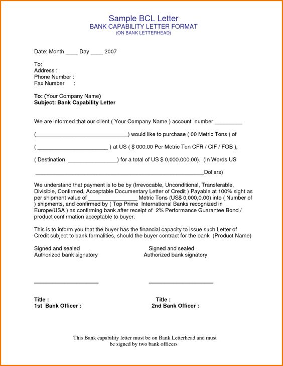 authorization letter for bank withdrawal pdf printing company - letter of credit