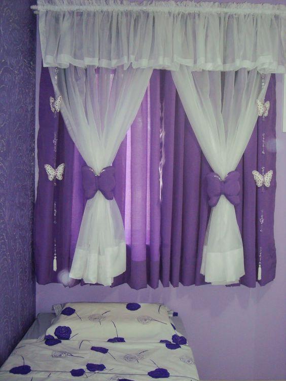 Cortinas para ni as cortinas pinterest - Cortinas habitacion juvenil ...