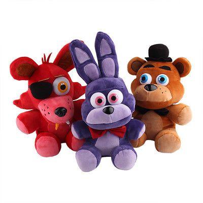 10 FNAF Bonnie Plush Toy Five Nights At Freddys 25cm