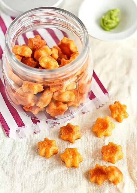 Wasabi Cheese Crackers