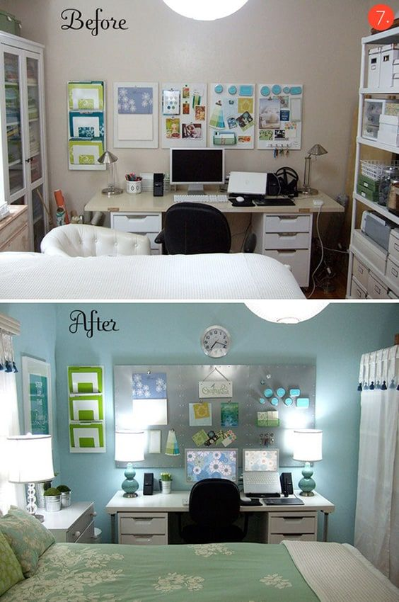 33+ Small bedroom office combo ideas formasi cpns