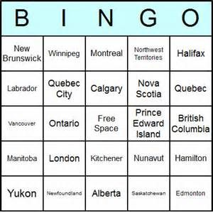 Free Printable Canada Bingo Cards and Bingo Game released by Answers ...