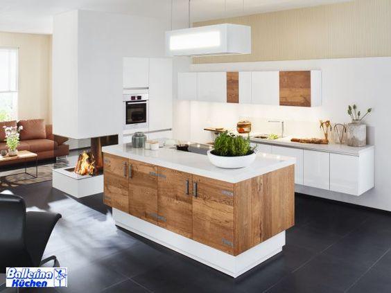 kücheninsel mit theke - Google-Suche Ofen Pinterest Searching - u-küchen mit theke
