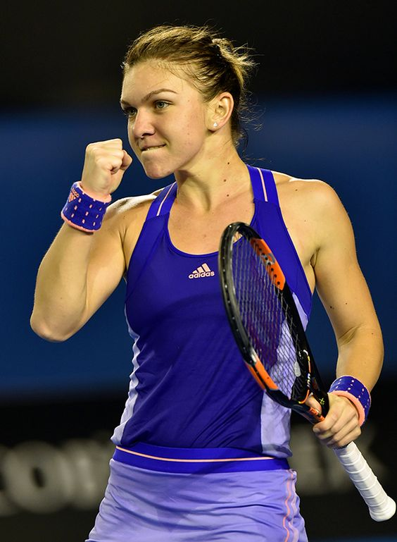 We asked and you answered. World No.3 Simona Halep has been voted best dressed at 2015 Australian Open. Despite all the neon pinks, greens and yellows, Halep's purple adidas dress received the most votes.  Halep edged out Australian Open finalists Maria Sharapova and Serena Williams. (WTA)