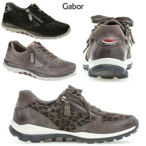 GABOR Rollingsoft 36.968 Sport Lace Up Shoes Sneaker Comfort