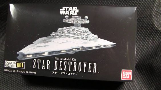 Bandai Star Wars Star Destroyer Model kit review
