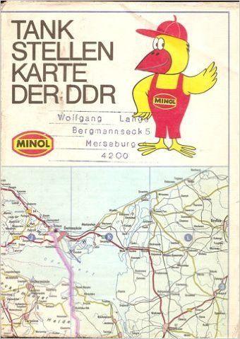 Karte Tankstellen der DDR Minol. Minol-Pirol.: Amazon.de: Bücher