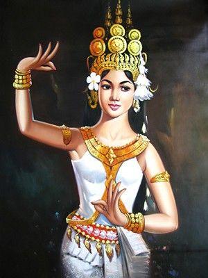 Nghệ thuật múa Apsara đòi hỏi sự duyên dáng thanh lịch của vũ công