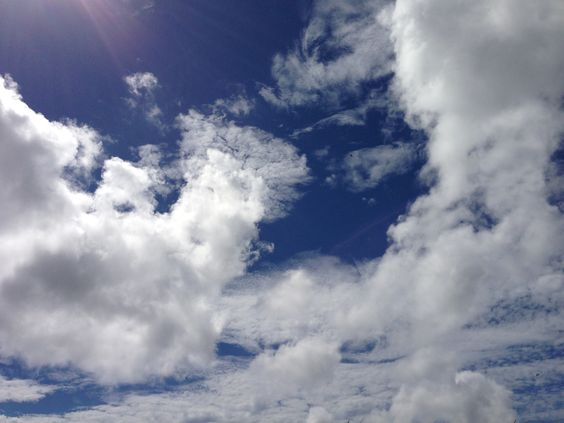 Blue sky. Summer time. 夏が来た!!!!!