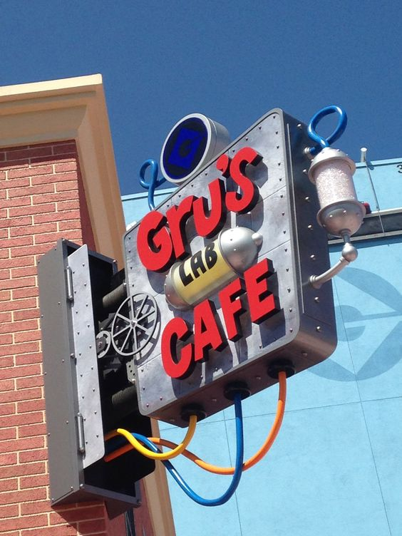 Una probadita de Grus Lab Cafe #MinionRide