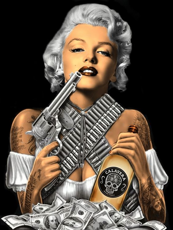 Marilyn Monroe Gangster by pave65
