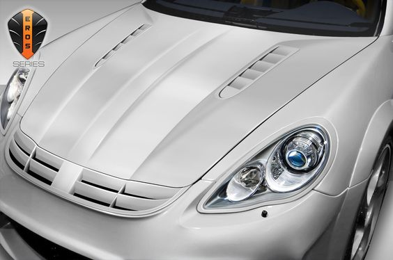 2010-2015 Porsche Panamera Eros Version 1 Hood - 1 Piece