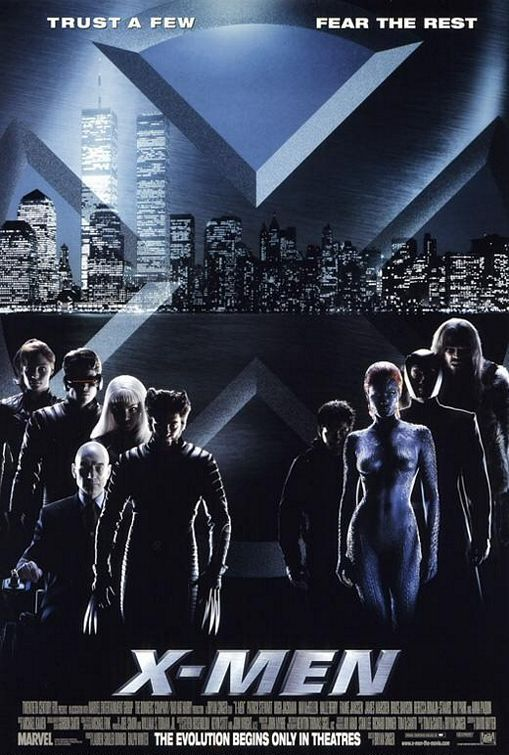I have to watch the entire X-Men series! So that means: X-Men, X2, The Last Stand, Origins: Wolverine, and Days of Future Past. (I've already seen First Class and The Wolverine)