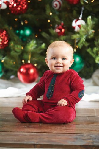 The perfect first Christmas outfit for your little man! We cannot get enough of the Mud Pie winter collection for boys - best ever!!